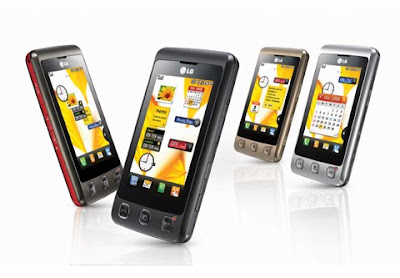 Facebook Mobile Application for LG Cookie KP500 / KP570