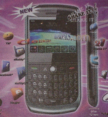 Micxon S900, MicXonBerry S900 with Touchscreen