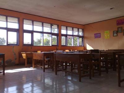 ruang kelas SMP N 1 Dawuan, Salawana