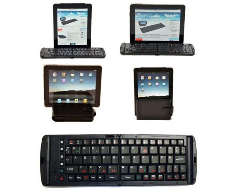 Bluetooth keyboard from Freedom for Apple iPad, iPhone OS 4, iPod Touch