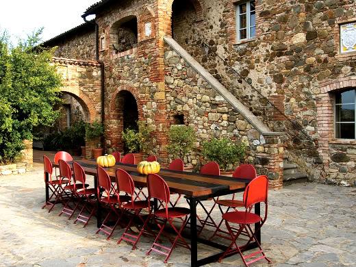 Decoracion Italiana Rustica ~ Detalhes que inspiram Casa na Toscana