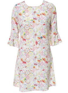 Topshop; Topshop dress; floral dress; ditsy print dress