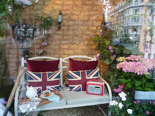 Peter Jones windows; Chelsea flower show
