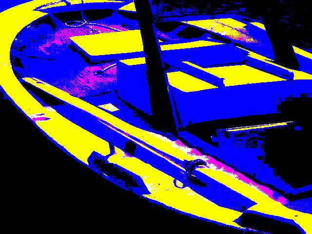 χρωματικη επιφανεια [ Βαρκα , Αστακος ] στον Matisse