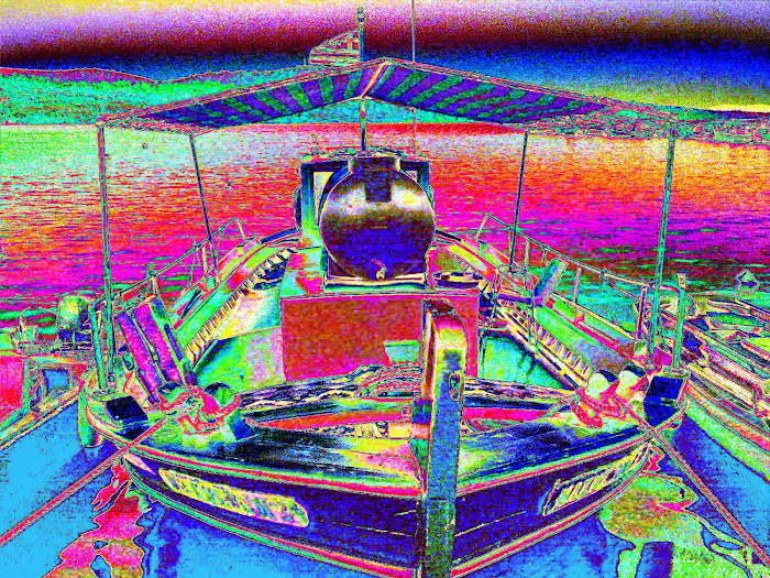 boat [ Greek Meta- Impressionism ] 4