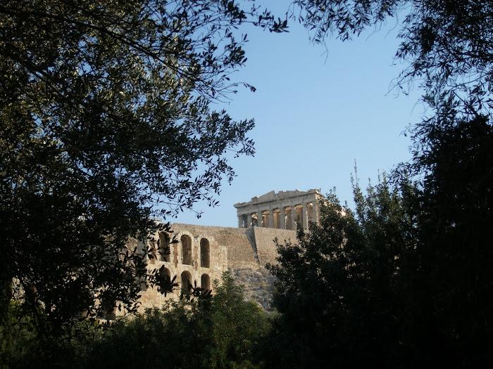 Θεατρο Ηρωδη του Αττικου και Παρθενωνας [ Αθηνα ]