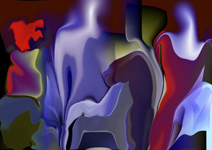 Αρχαι'κο[ ο Οδυσσεας και η Πηνελοπη στο κηπο με Σεληνοφως , τη νυχτα της μερας,που αρραβωνιαστηκαν]