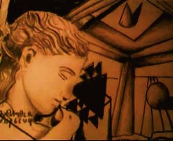 Greek Imaging in Sierpinski Fractal