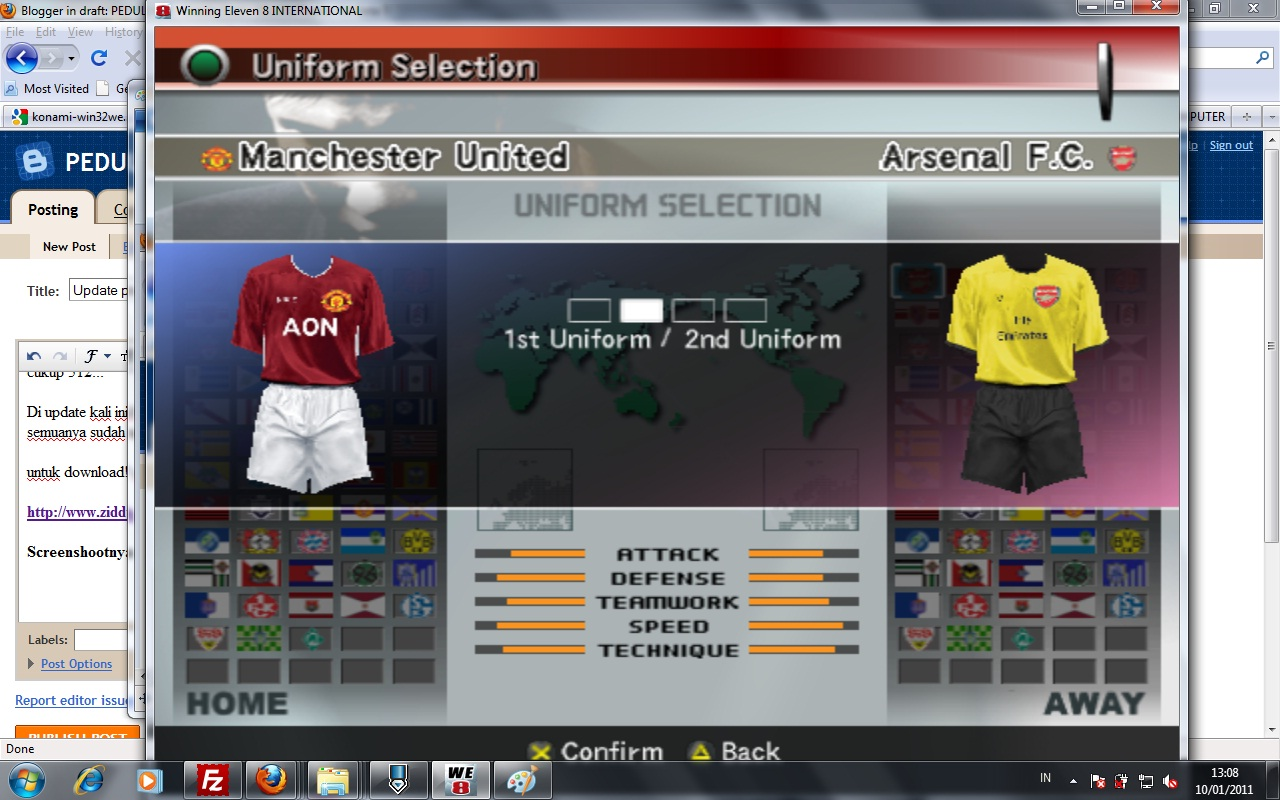 Download Winning Eleven 2012 Untuk Hp Blackberry