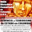 La imagen del Terrorismo de Estado en Colombia: ayude a difundirla. Rompamos el silencio que sustenta al genocidio…