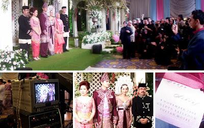 foto resepsi pernikahan bunga citra lestari