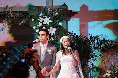 Ashraf - Bunga Citra Lestari Wedding Reception at The Saujana, Kuala Lumpur
