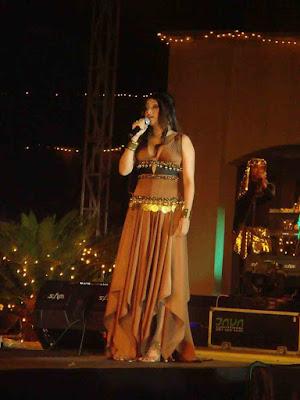 Sarah Azhari a gipsy Queen