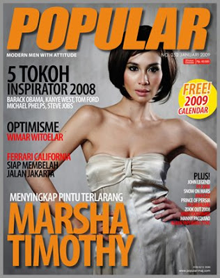 Marsha Timothy POPULAR Magazine