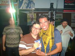Airton de Oliveira e Paulo Resendez na premiação paralela