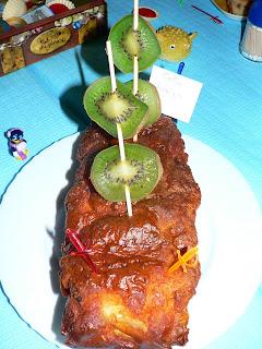 Cake Pommes Et Andouille Pour Aperitif