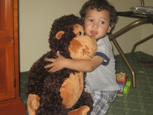 Mateo with his monkey!!