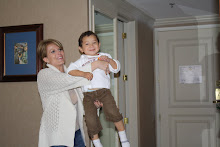 Mommy playing with Mateo
