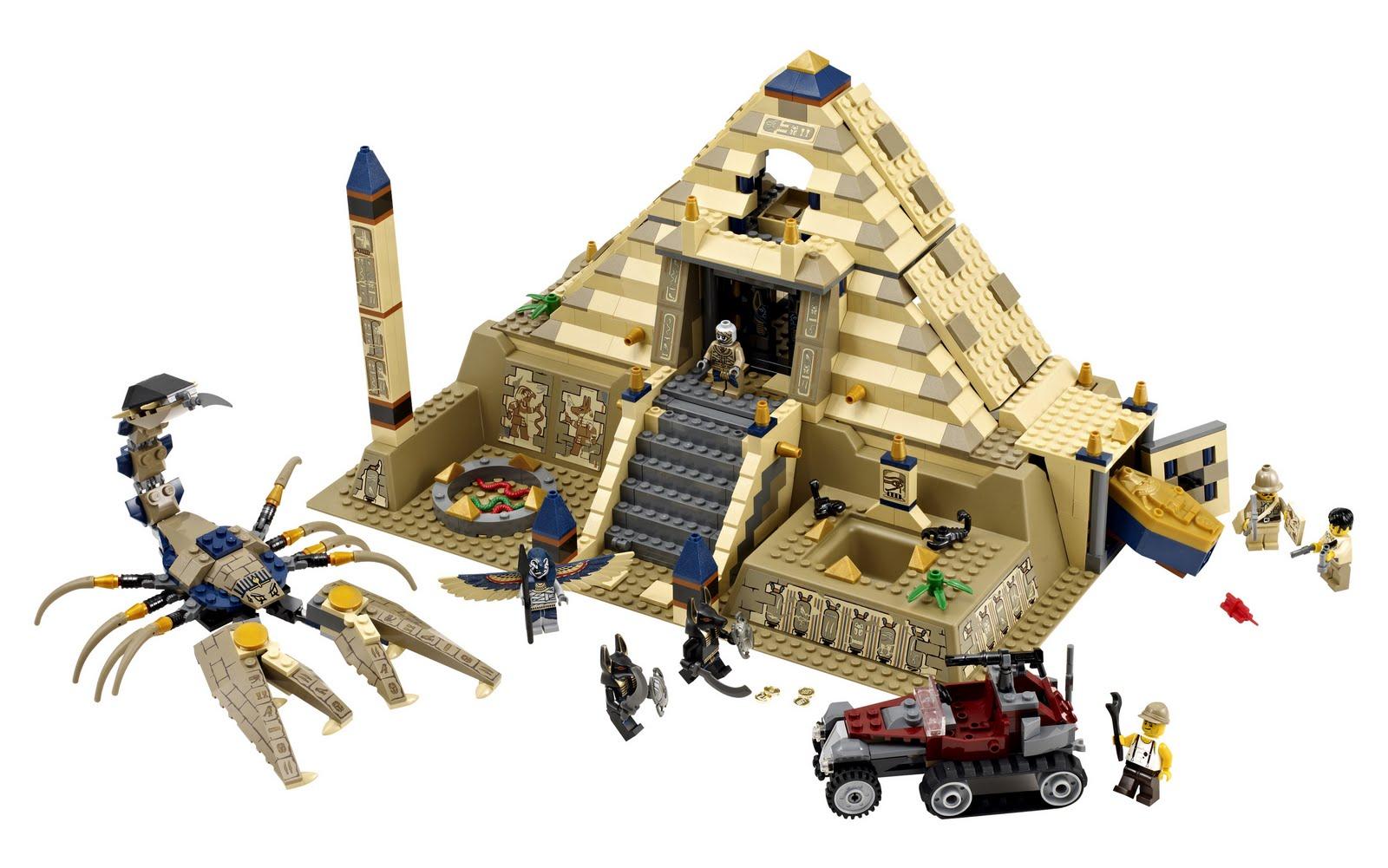 Wwwonetwobricknet LEGO Set Database 7327 Scorpion Pyramid