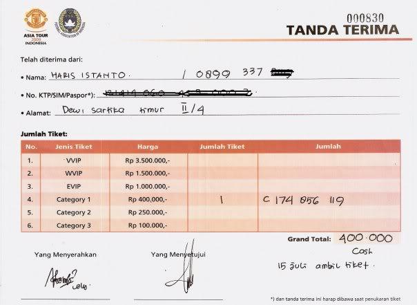 Abadi Jaya Grafika Form Tanda Terima
