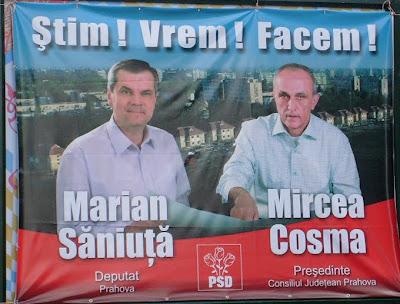 Cosma+si+Saniuta+bun. PSD Câmpina merge pe mâna lui Mircea Cosma