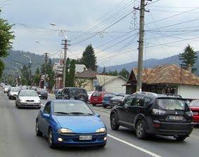 trafic+busteni Maşină furată şi... ameninţări cu pistolul, în trafic, pe Valea Prahovei