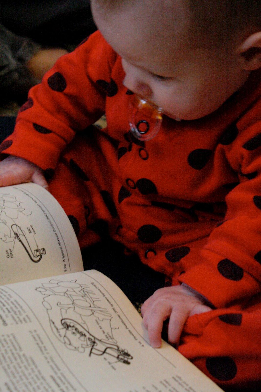 Baby reading manual