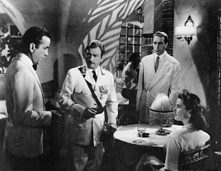 an introduction to the analysis of the film casablanca Casablanca is a drama/romance film adaptation of a play titled everybody comes to ricks by murray burnett and joan alison in the film the main character is called rick blaine, so without currently knowing anything about the play, i would guess that the rick in film is after the title of the play.