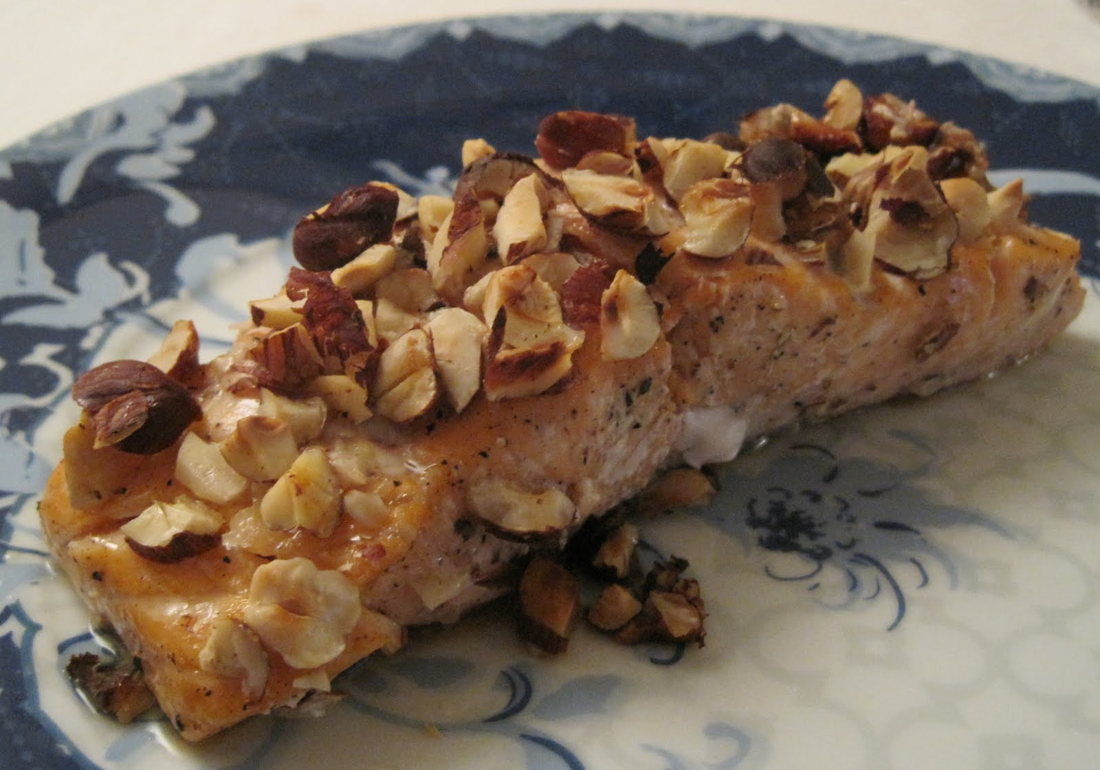 Honey and Hazelnut-Crusted Salmon | Cooking For One in Paris