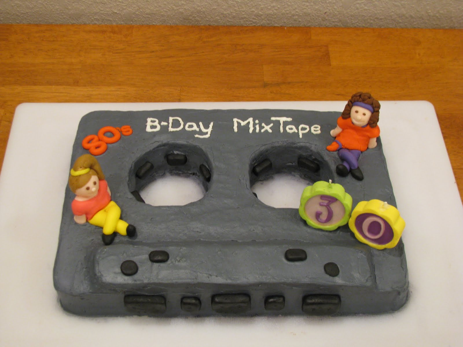 The Meagher Family 80s Birthday Cake