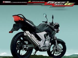 Yamaha Fazer di LuncurkanTahun Depan