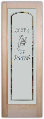 ... 24 Pantry Door : Sans Soucie Art Glass Studios Inc Kitchen Pantry Door  ...