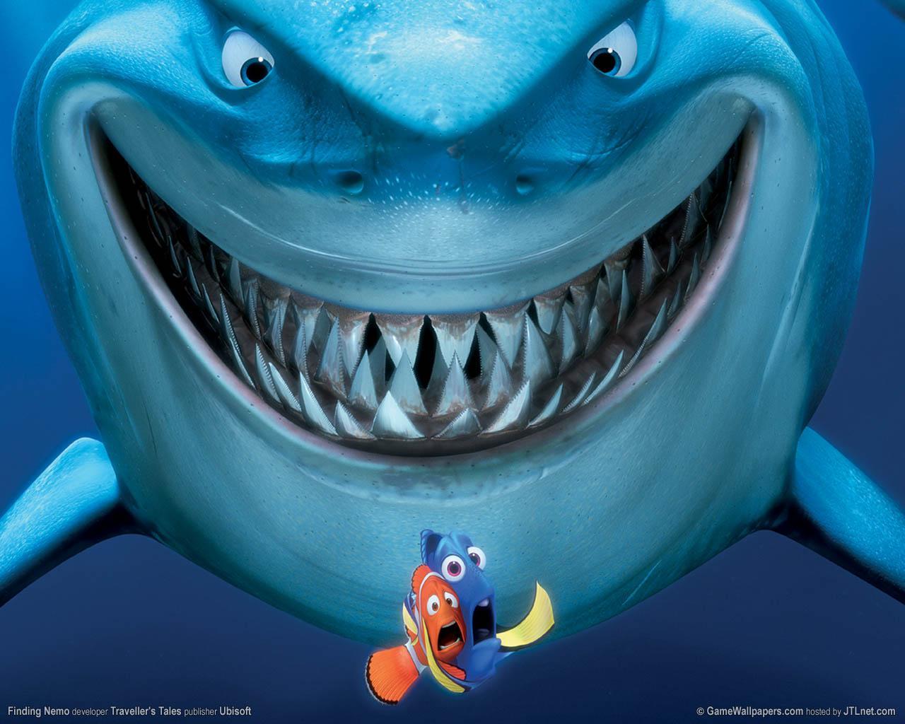 disneycharactersFinding Nemo Sharks Names