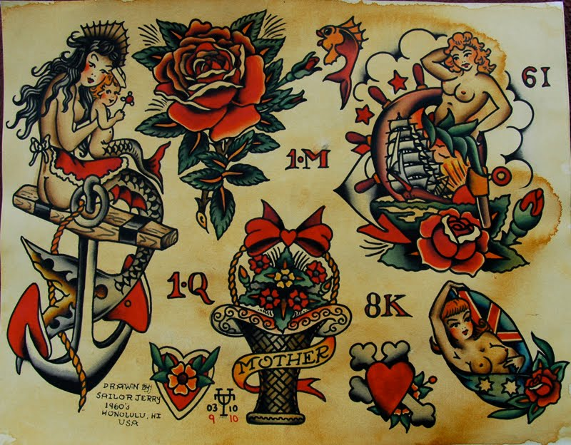 Tattoo union september 2010 for Sailer jerry tattoo