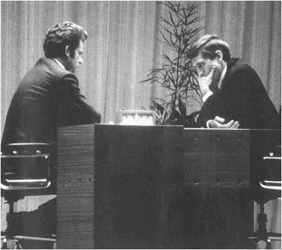 Boris Spassky contre Bobby Fischer 1972