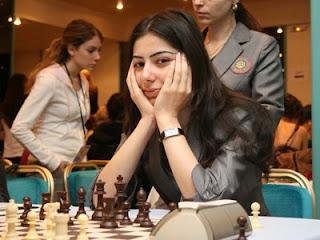 La joueuse d'échecs arménienne Lilit Mkrtchian