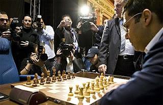 Championnat du Monde d'échecs : comment Anand va-t-il réagir ?