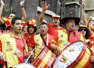 Supporters espagnols - Reuters