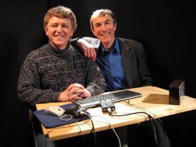 Stéphane Laborde et Philippe Dornbusch - © Chess & Strategy