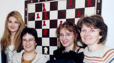 Sophie Milliet, Silvia Collas, Marie Sebag et Maria Leconte © Chess & Strategy