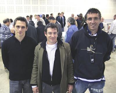 Notre ami Pierre Teissrenc toujours au plus près des champions d'échecs