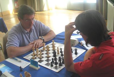 Pierre Teisserenc au championnat de France d'échecs 2008 à Pau © Chess & Strategy