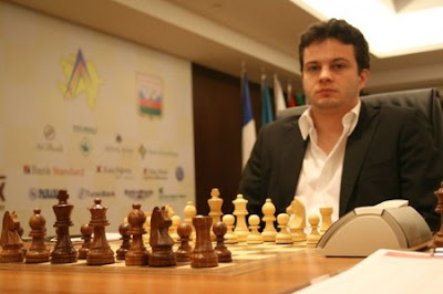 le champion d'échecs français Etienne Bacrot - photo Fide