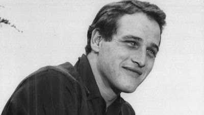 Paul Newman au début de sa carrière en 1956