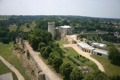 Château Guillaune le Conquérant sur le thème des échecs