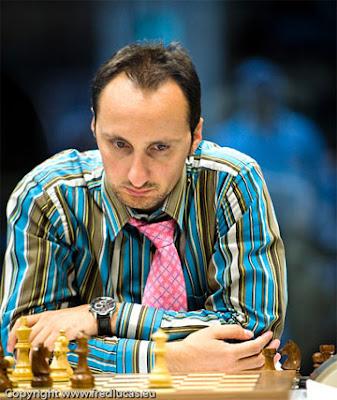 le champion d'échecs Veselin Topalov photographié par Fred Lucas