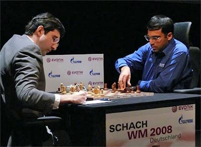 Le championnat du monde d'échecs 2008