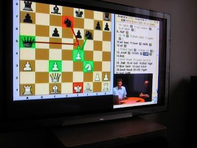 Les échecs à la télévision - photo Chess & Strategy