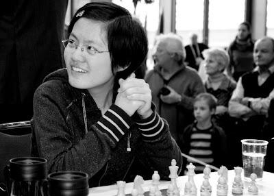 La joueuse prodige chinoise Hou Yifan - une des 1.500 photos de Susan Polgar