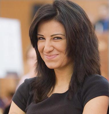 Zeinab Mamedjarova (2351), premier échiquier de l'équipe d'Azerbaïdjan
